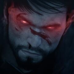 Pre-rendered male Hawke from Destiny trailer