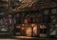 Ort Marktviertel von Denerim Zum Müden Adeligen