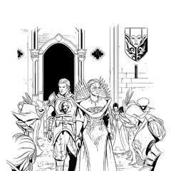 Celene in <i>Dragon Age: Das maskierte Reich</i>