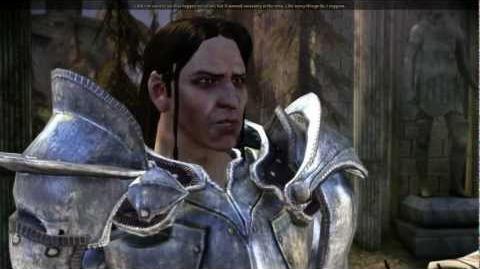 Dragon Age Cailan's death (cut content)
