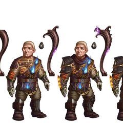 Concept-Art von Sandal aus Heroes of Dragon Age