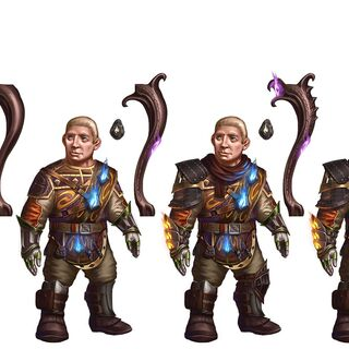 Tier progression of Sandal in <i>Heroes of Dragon Age</i>
