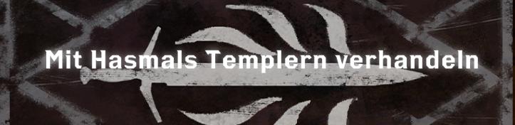 Mit Hasmals Templern verhandeln - Font