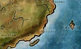 Герциния карта