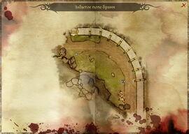 Забытое поле брани (карта)