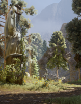 Spiel mit dem Feuer - Die gekrönte Statue