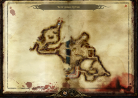 Карта тейга Ортан