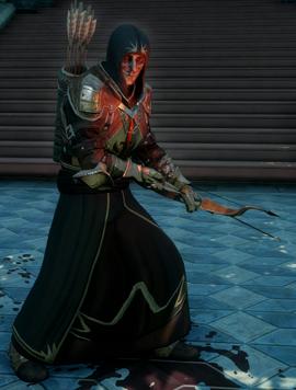 Красный храмовник-лучник