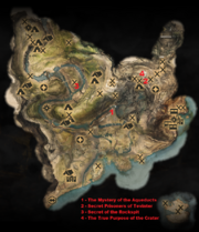 Mysteries of the Frostback Basin Map