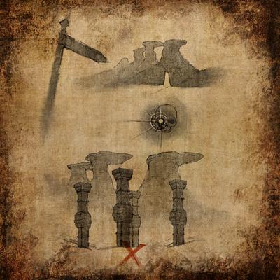 Кроки гробницы у Четырех столбов