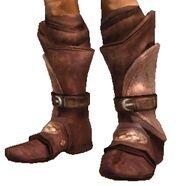 Пластинчатые ботинки