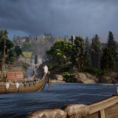 Die Docks von Redcliffe