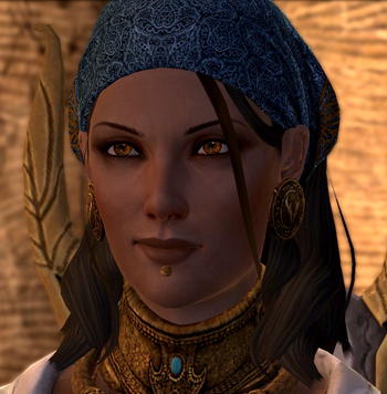 Dragon Age II Isabela MC Captain Temporary Photo