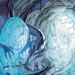 Yavana mit ihrem Drachen