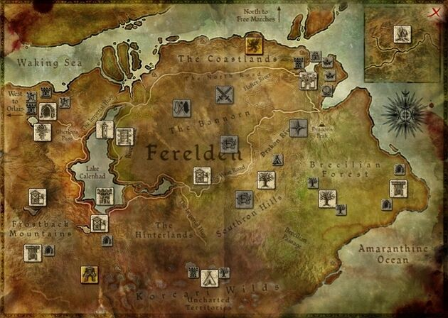 World map origins dragon age wiki fandom powered by wikia map world gumiabroncs Images