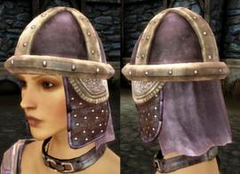 Клепаный шлем