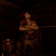 Cole in der Taverne der <a href=