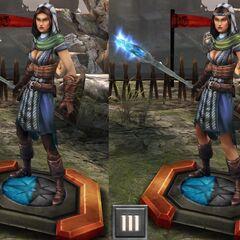Bethany - Szara Strażniczka w <i>Heroes of Dragon age</i>