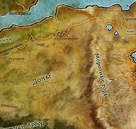 Карта Долов