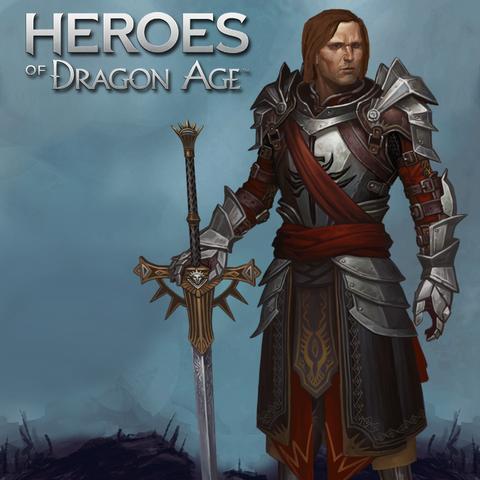 Artwork of Knight-Captain Denam from <i><a href=