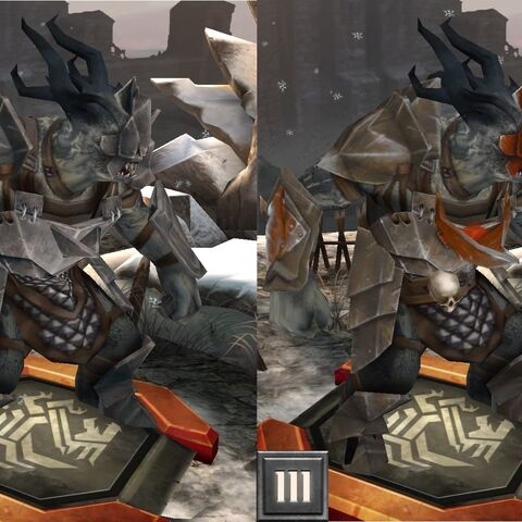 Ogre commander in <i>Heroes of Dragon Age</i>