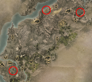 Местонахождение витязей и венатори (Путь витязя и мага разрывов)