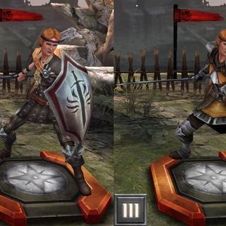 Avelina w <i>Heroes of Dragon Age</i>