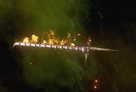 Большой меч с драконом