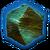 Тронутый тенью змеевик (иконка)