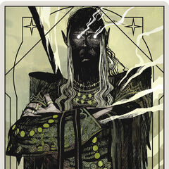 Arkaner Krieger Tarotkarte
