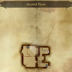 Second Floor of Soldier's Peak Map