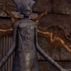 In ancient Arlathan, statues like this honoured the creators. This one is believed to be a representation of Falon'Din.
