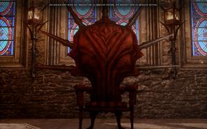 Ein Urteil wird verlangt - Der Thron