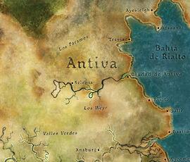 Antiva Mapa