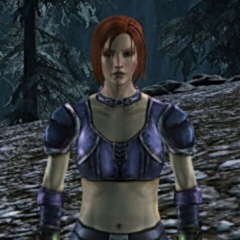 Female version of the armor