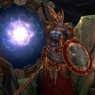 Ein dunkler Wiedergänger in <i>Heroes of Dragon Age</i>