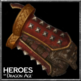 Duster Leather Gauntlets in <i>Heroes of Dragon Age</i>