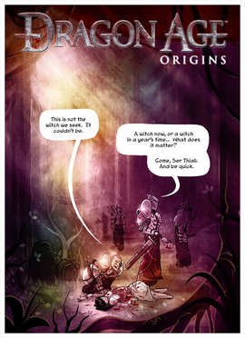 Dragon Age Origins comic