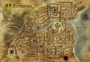 Gesindeviertel von Denerim Denerim map