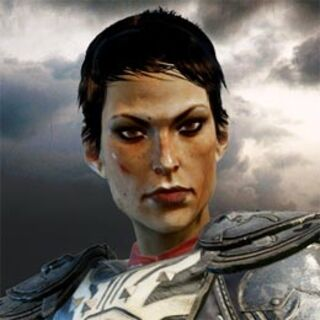 Cassandra's profile on the official <i>Dragon Age: Inquisition</i> website'