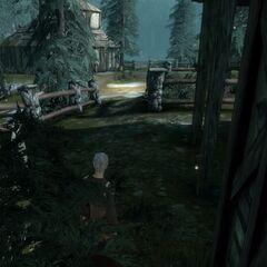 Village of Haven hidden Graveyard Accesspoint 1