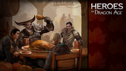 Heroes of Dragon Age постер