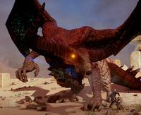 Глубинная высшая драконица7