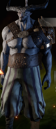 Meisterhafte Schlachtenmeister-Rüstung an Bulle
