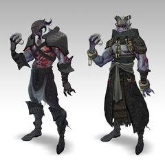 Grafika koncepcyjna z <i>Dragon Age II</i>