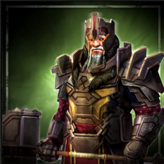 Promotional image of Lord Pyral Harrowmont in <i>Heroes of Dragon Age</i>