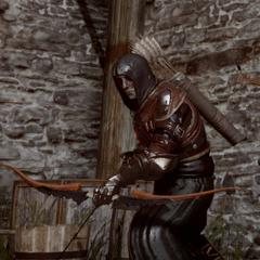Ein Scharfschütze der Roten Templer