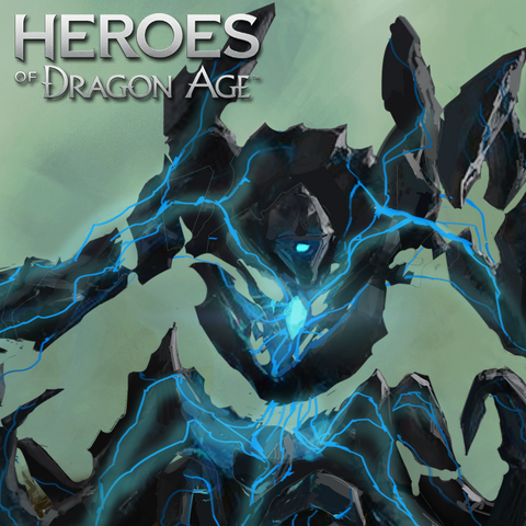 Promotional image of the Guardian in <i>Heroes of Dragon Age</i>