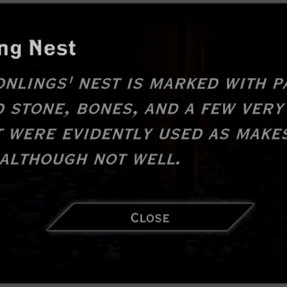 The Dragonling Nest landmark