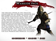 Item pack-01-warrior